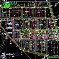 某仓储式石油化工码头总平面布置图
