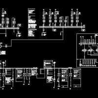 220kV变电所通用图设计CAD图纸