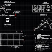 边坡挂网喷护CAD设计图