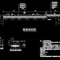 水电站库区移民搬迁山区道路工程施工图