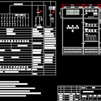 某城市道路100KVA箱变系统图