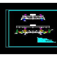 路基标准横断面图及路面结构图纸