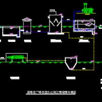 啤酒厂6000t/d废水处理毕业设计图纸