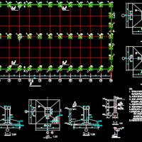 25X2m跨固化剂钢结构厂房设计图纸