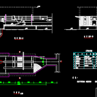 某污水处理厂细格栅站设计详图