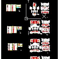 浅埋式地铁盾构管片配筋设计CAD图
