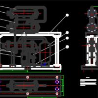 溴化锂吸收式系统装配图