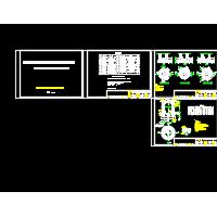 雨水井、污水井、雨水口、管道连接CAD图纸