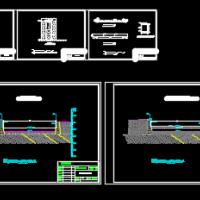 河道清淤及闸坝整治工程图纸