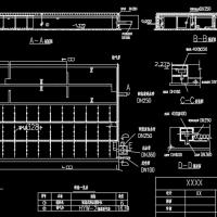 污水处理厂A2O反应池细部图