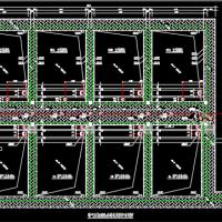 污水再生利用曝气生物滤池设计图纸