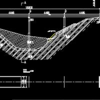 预应力混凝土简支梁桥设计图纸(课程设计图)