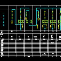 10KV变电站一次系统图