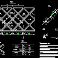 道路工程多种护坡防护工程设计图(拱形骨架 方格骨架 片石护坡)