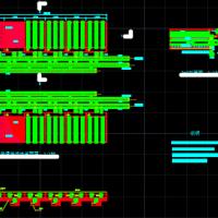 普通快滤池课程设计施工图