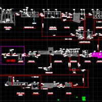 污水处理厂高程图