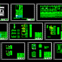 10KV变电所电气设计图