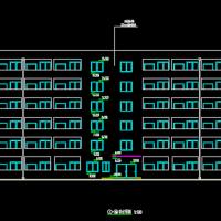 6504平米6层框架结构学生宿舍楼毕业设计(含计算书 任务书 中英文翻译)