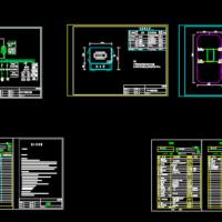某315kVA临时箱式变压器施工图