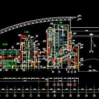 某垃圾焚烧发电厂工艺流程图