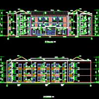 安徽5386平米三层儿童福利院建筑施工图