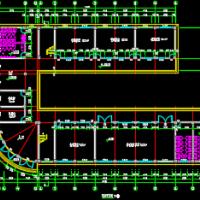 四层12班小学教学楼建筑施工图
