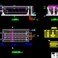 曝气沉砂池CAD施工图