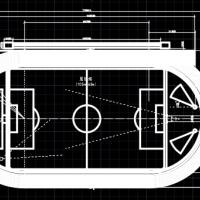 天然草坪400米标准跑道田径场设计图纸