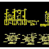 多种样式集水坑结构配筋详图