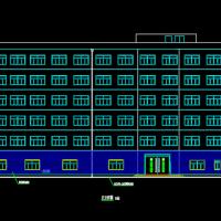 4997平米6层框架结构宾馆毕业设计(含计算书、建筑结构设计图)