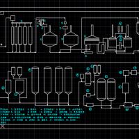 啤酒厂生产流程图