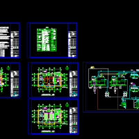 某燃气蒸汽锅炉房系统设计施工图纸
