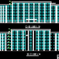 8500平米主体七层综合办公楼毕业设计全套图(含计算书、开题报告、图纸、PKPM模型、计算表格、)