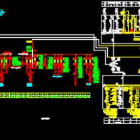 220kV变电所电气主接线图