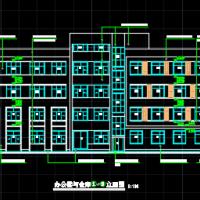 五层框架结构办公楼建筑及结构全套施工图