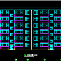 5231平米六层框架结构住宅楼毕业设计(含开题报告、图纸、任务书)