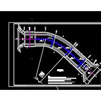 某水库正槽式溢洪道CAD设计图纸