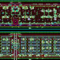 大型二层地下车库和商场结构施工图(含建筑图)