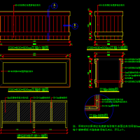观景亭防腐木移动花箱设计图 (含效果图)