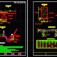 二级公路盲沟CAD施工图设计图