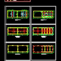 22X7m矩形水池结构施工图