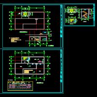 室外消防水池及泵房设计图纸
