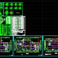 某商业综合楼消防系统图