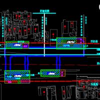 地下双层岛式地铁车站毕业设计(总长188.4m 计算书 施组)