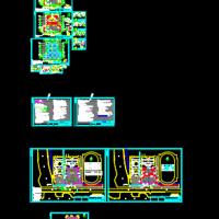 深基坑拉森钢板桩与钢管支撑支护设计施工图