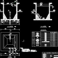 贮泥池设计图纸(课设图)