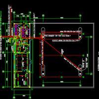 某地区二级加油站站房及罩棚电气设计图纸