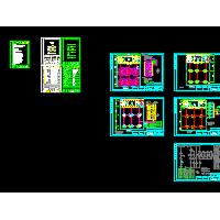 小型加油站电气设计CAD施工图