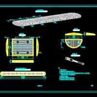 橡胶减速带CAD图