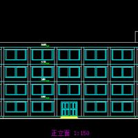 四层框架结构厂房毕业设计(图纸 计算书 开题报告)
